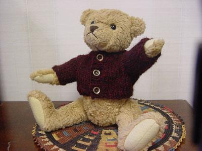 Knitting 103 Teddy Bear Sweater